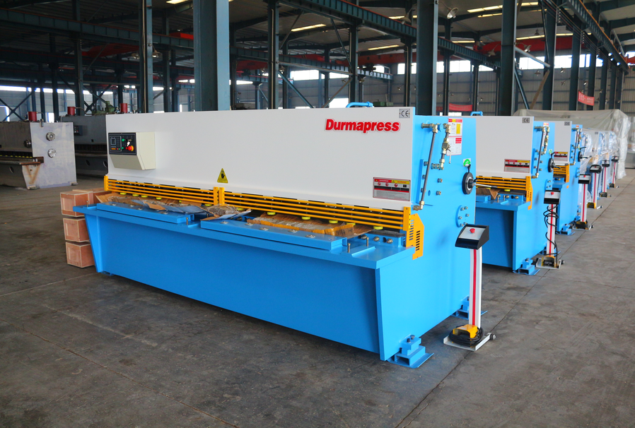 hydraulic guillotine shearing machine vs hydraulic swing beam shear​ing machine