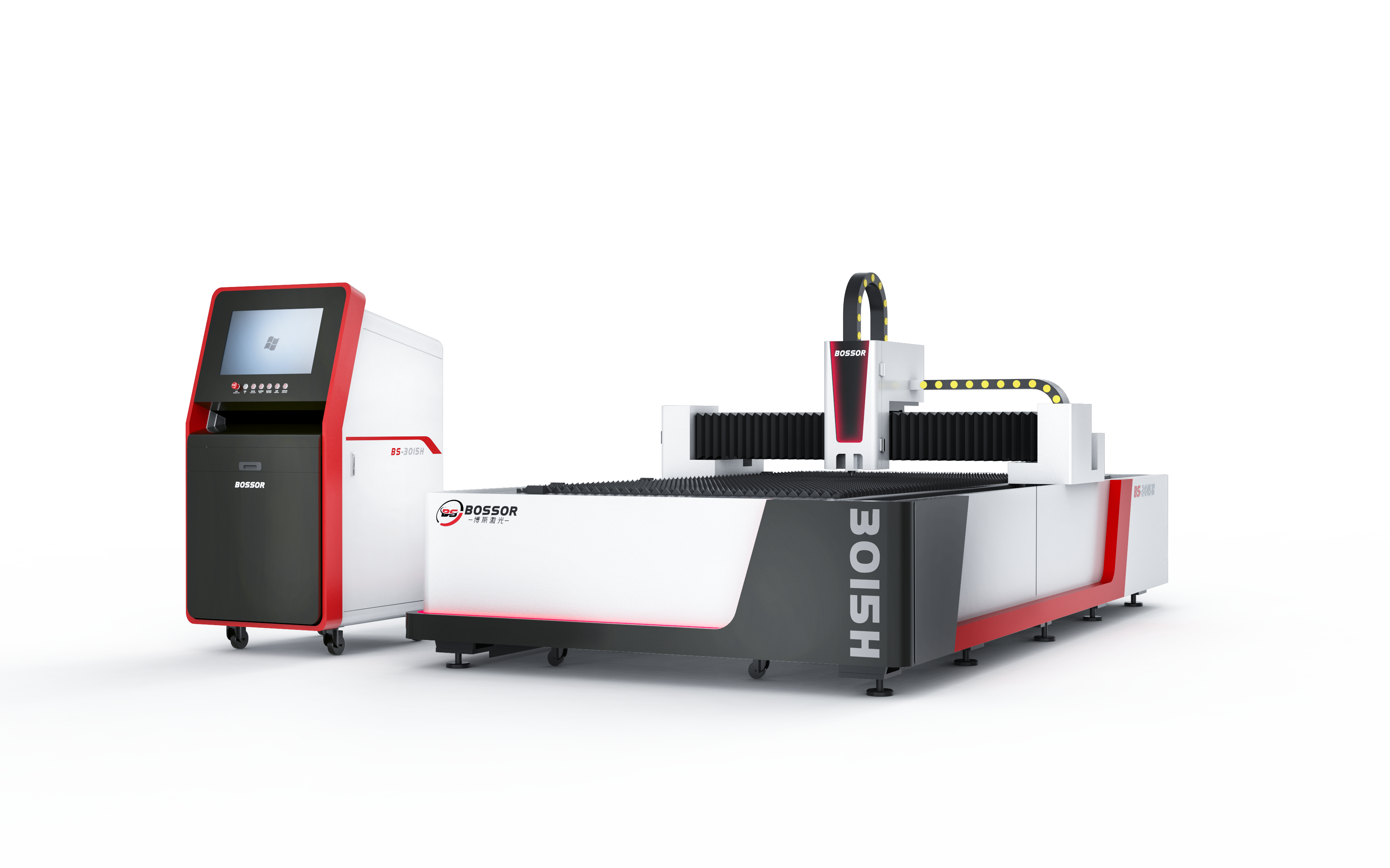 3KW Fiber Laser Cutting Machine