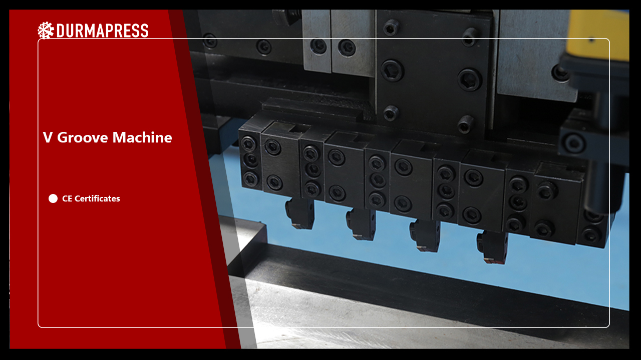 Metal Sheet V Grooving Machine Process Introduction